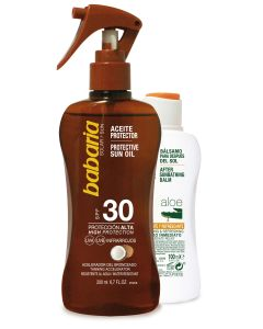 Pack (aceite fp-30 spray 200ml. coco + after sun 100ml)