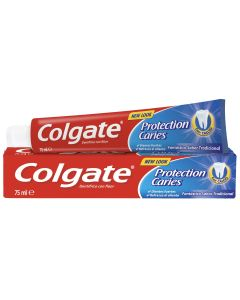 Dentifrico  proteccion caries  pack 2 ud 75 ml