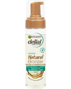 delial natural bronzer autobronceador mousse   200 ml