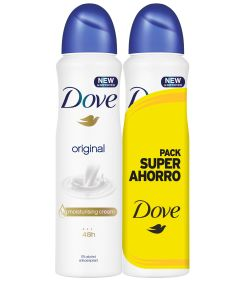 Desodorante spray duplo pack ahorro original  2x200 ml = 400 ml