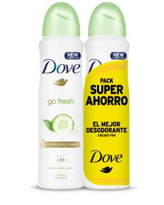 Desodorante spray  go fresh pepino  pack 2 ud 200 ml