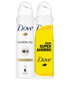 Desodorante spray  invisible dry  pack 2 200 ml
