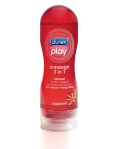 Lubricante play massage sensual   200 ml