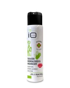 Higienizante manos spray solucion hidro-alcoholica higienizante 70% alcohol   75 ml