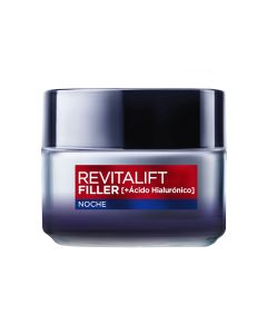 l'oreal revitalift filler crema noche anti-arrugas 50 ml