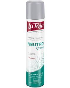 Espuma afeitar 300 ml neutro care