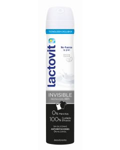 lactovit  desodorante spray proteccion 48 horas invisible  200 ml