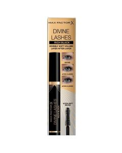 max factor divine lashes mascara pestañas  rich black 001