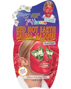 Mascarilla sauna red hot face