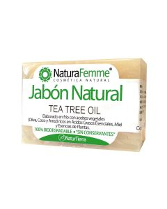 Jabon pastilla tea tree oil