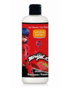 Gel baño  lady bug frambuesa  545 ml