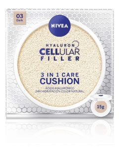 Base maquillaje cushion 3en1 03 dark