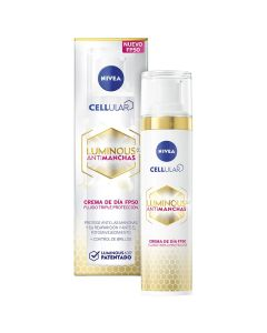 nivea cellular luminous 630 crema dia anti-manchas fp-50   40 ml