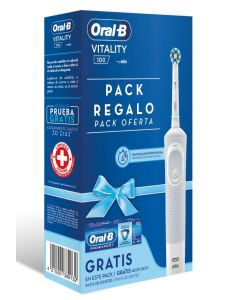 Estuche cepillo dental electrico+oral b pro expert dentífrico 75ml. pack higiene