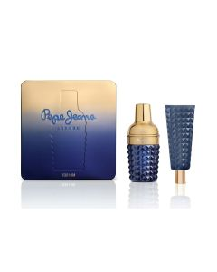 pepe jeans celebrate for him estuche eau de parfum vaporizador 100 ml+gel 80 ml