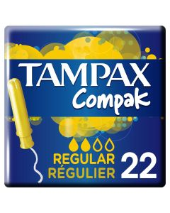 Tampones 22 uds regular
