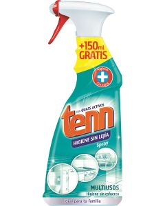Higiene sin lejia limpiador multiusos   500+150=650 ml spray