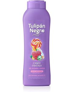 tulipan negro  gel baño  candy fantasy  720 ml